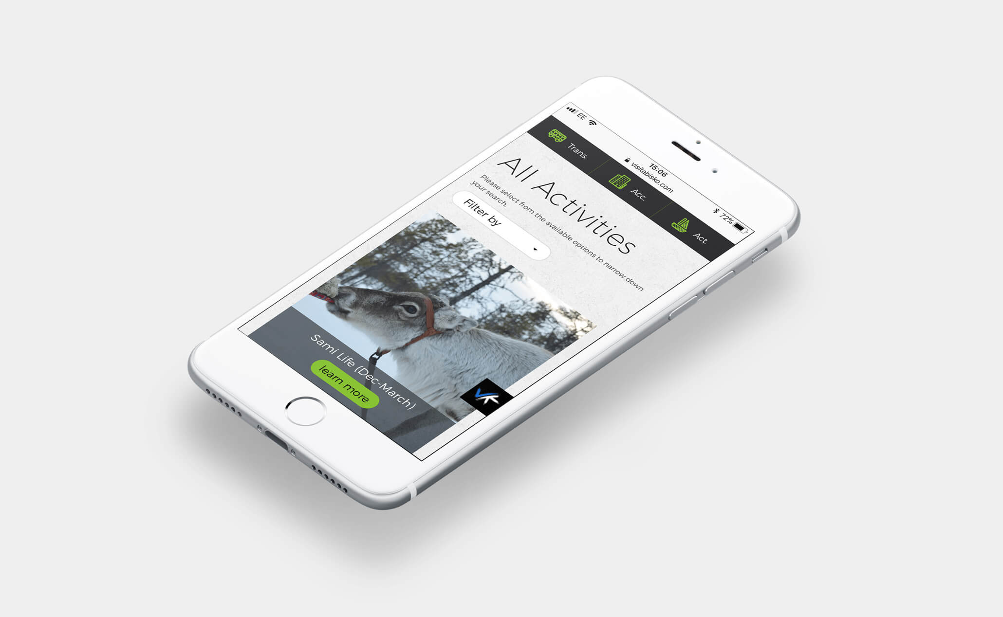 Visit Abisko website