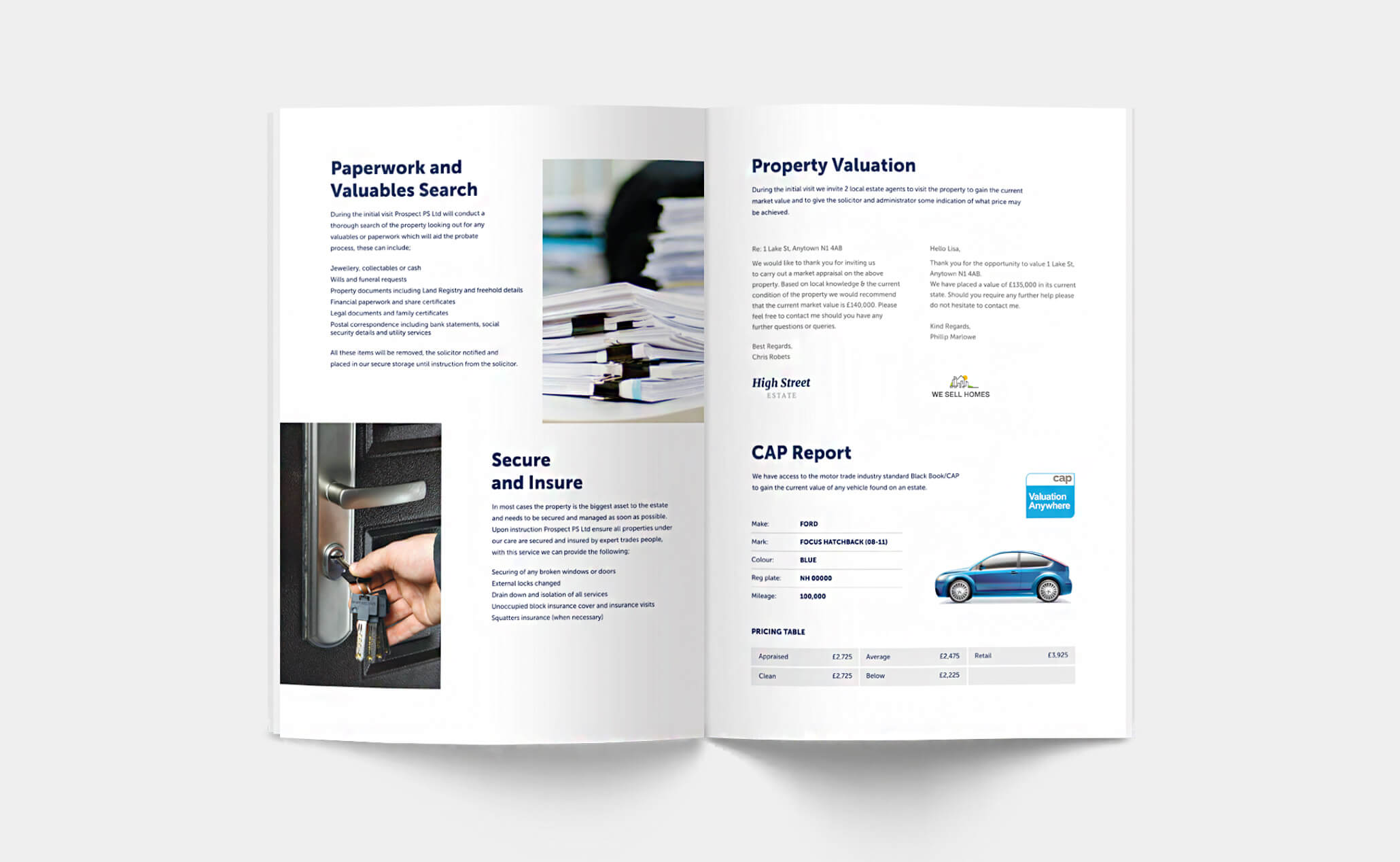 ProspectPS - A4 brochure