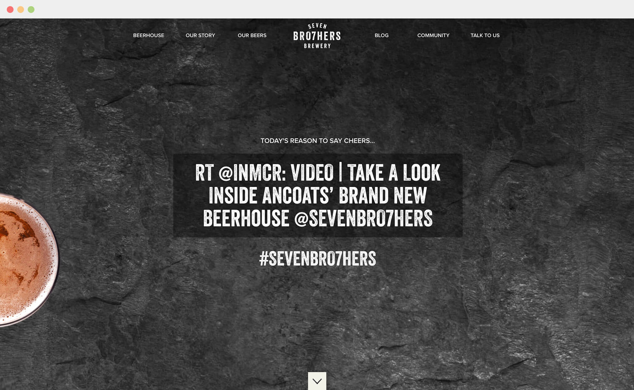Seven Brothers Brewery website