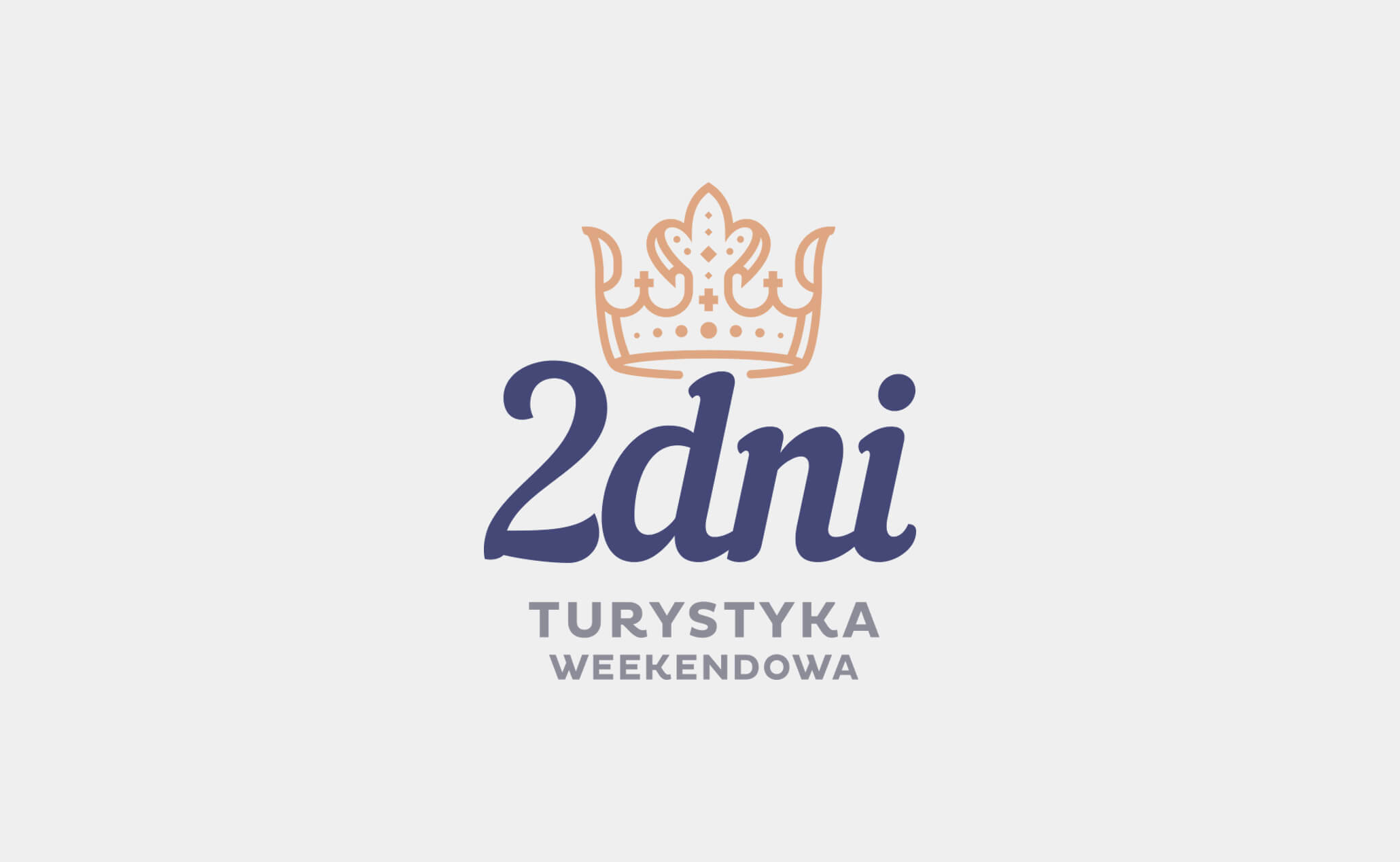 two days logo design