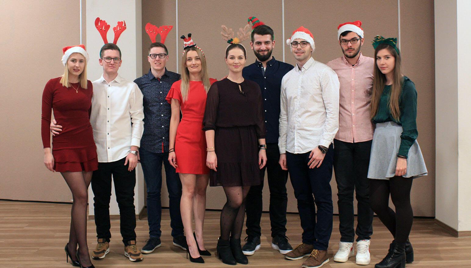 RWD team photo christmas 2018