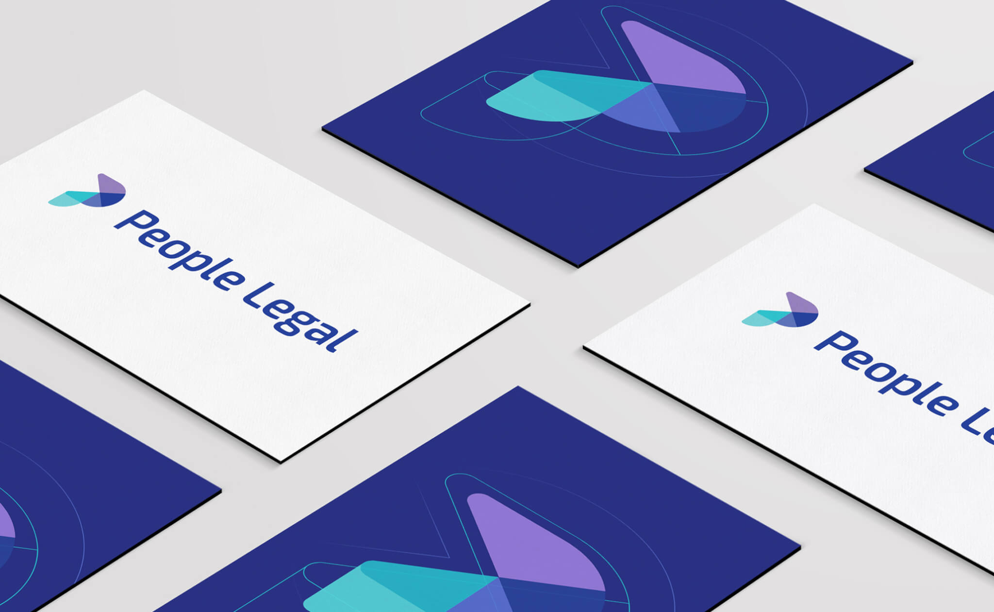People Legal business card designs
