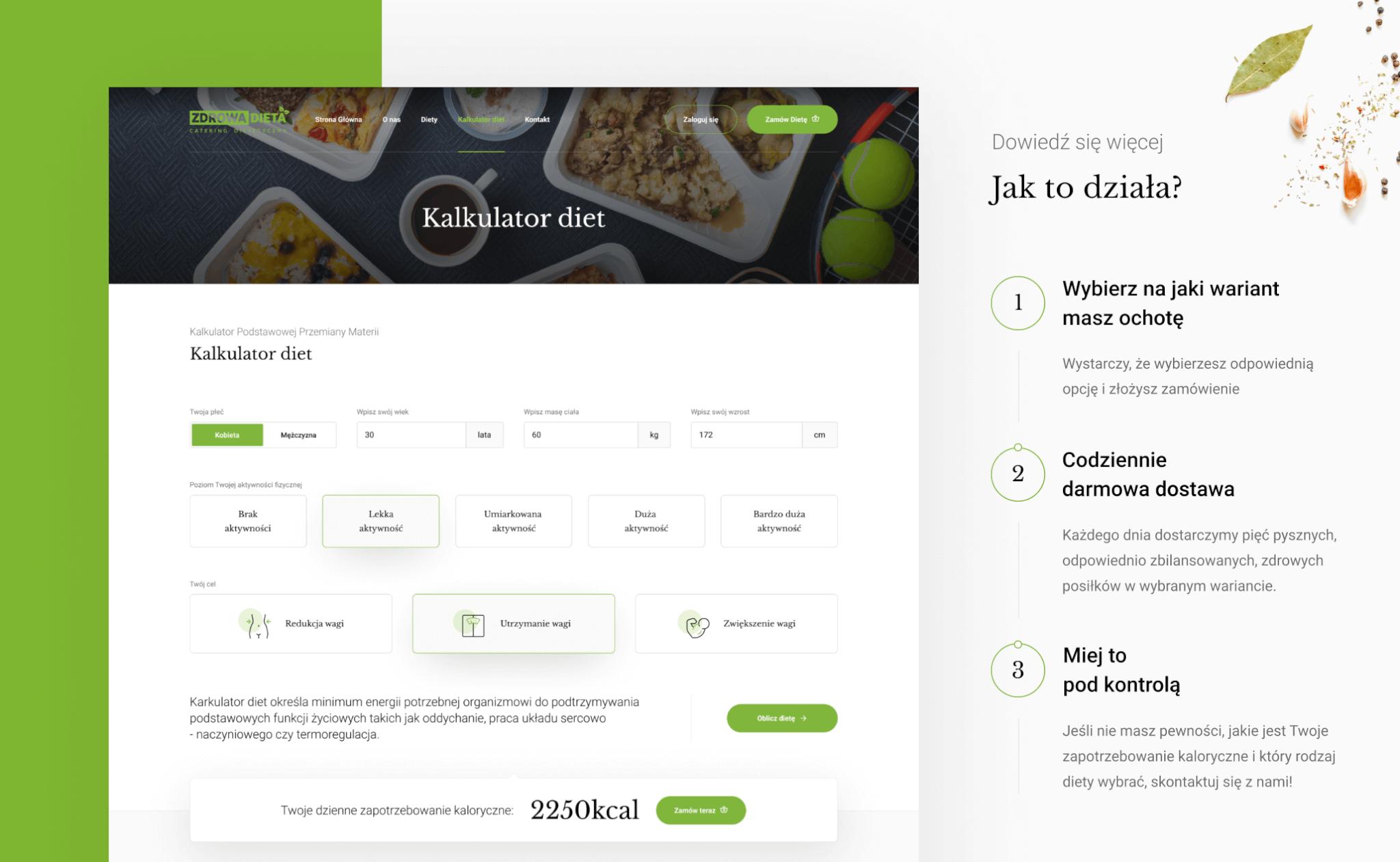 Zdrowa Dieta Catering project