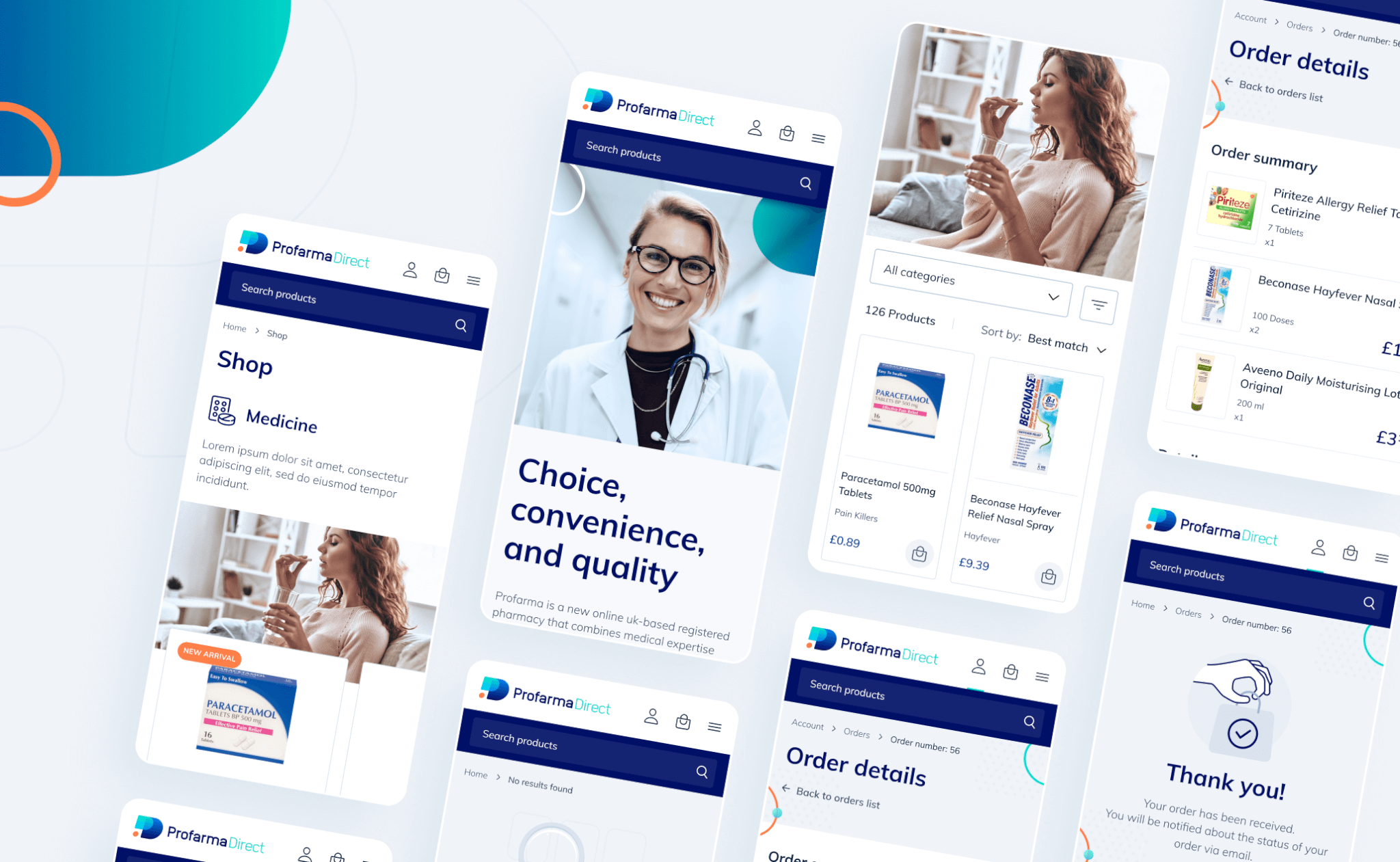 Profarma Direct website project